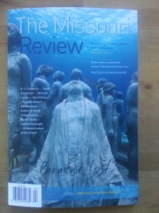 The Missouri Review, Winter 2014